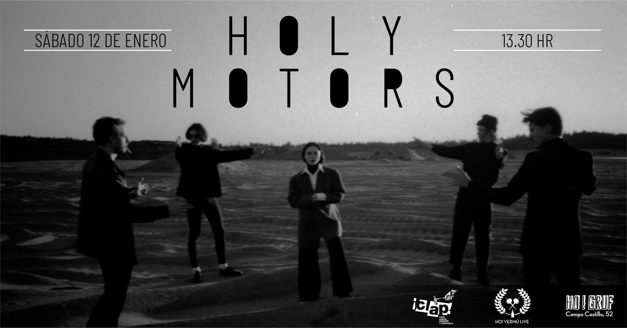 Concierto de Holy Motors en el Ho! Gruf