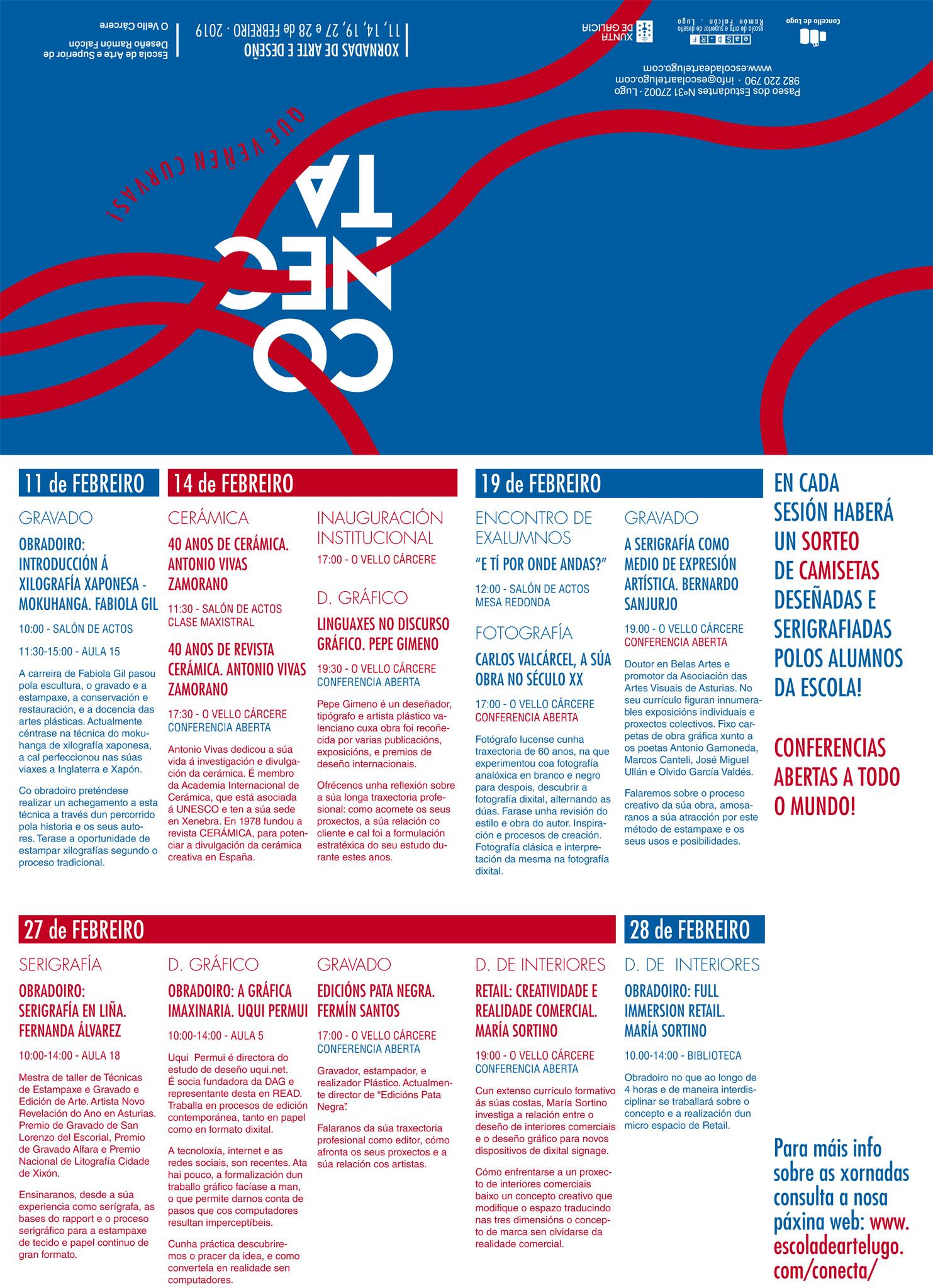 Conecta: xornadas de arte e deseño en Lugo