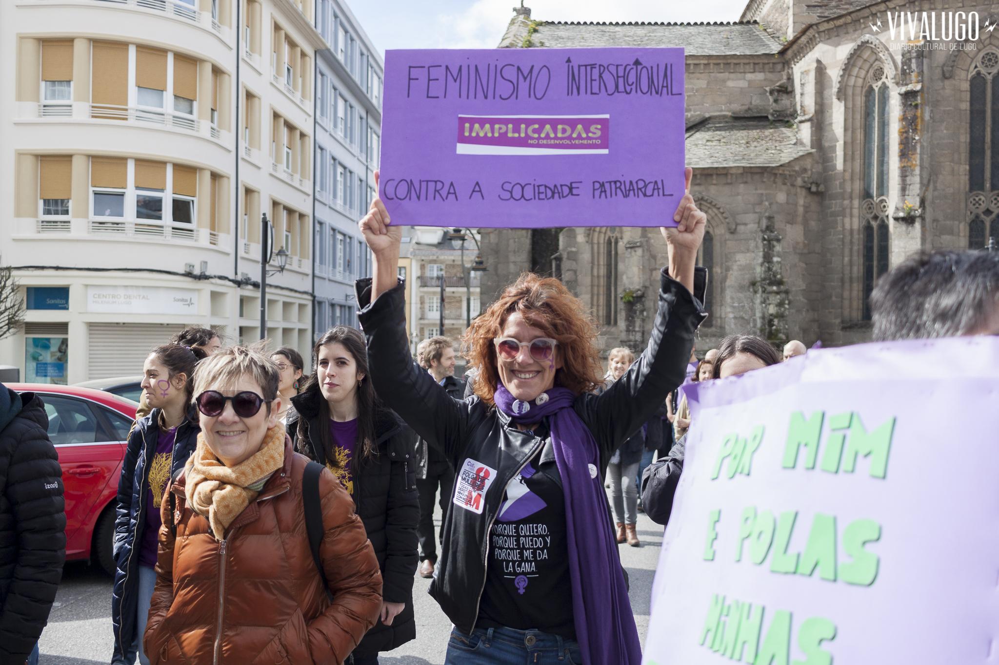 Manifestación Feminista en Lugo
