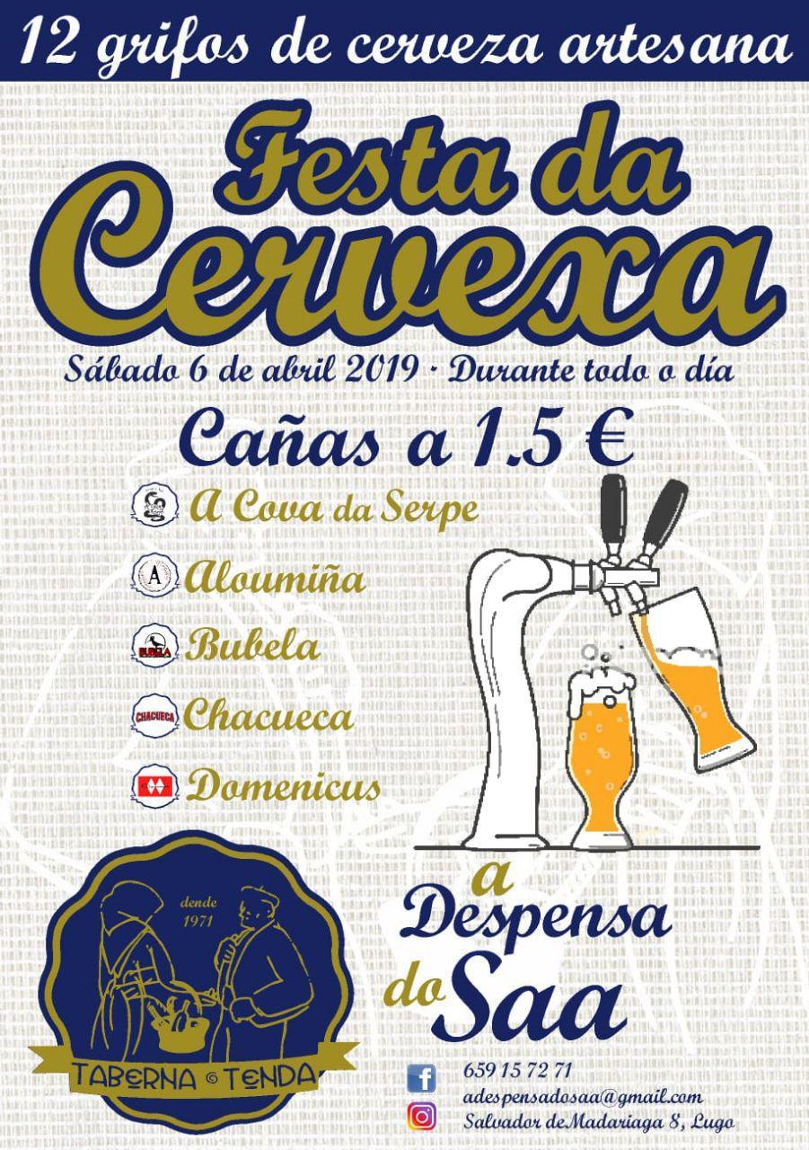 Festa Presentación Cervexeiros Artesás de Lugo