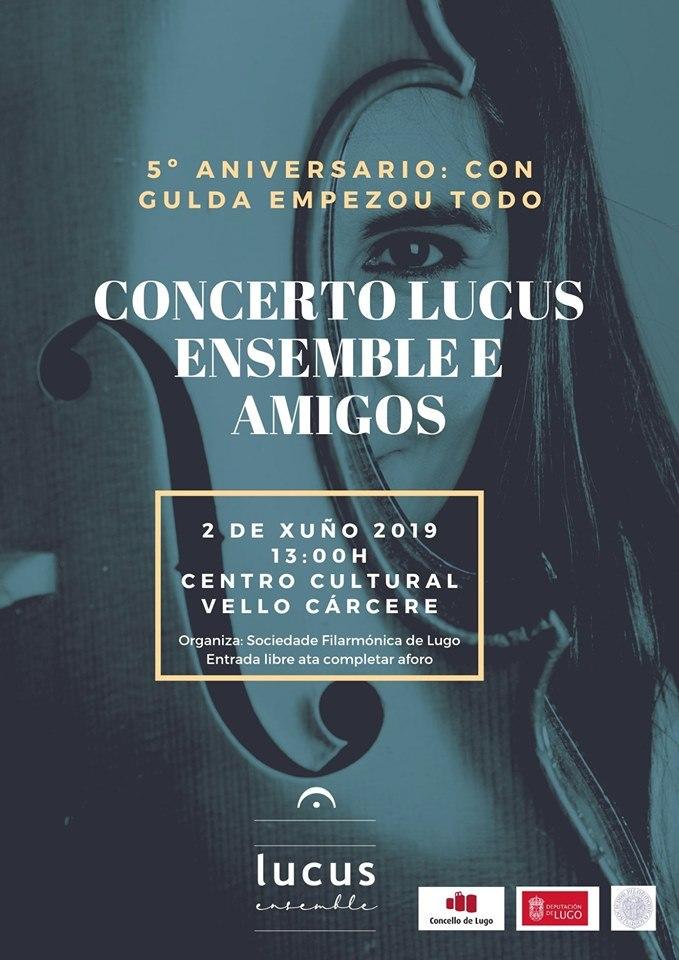 Concerto 5º Aniversario de Lucus Ensemble