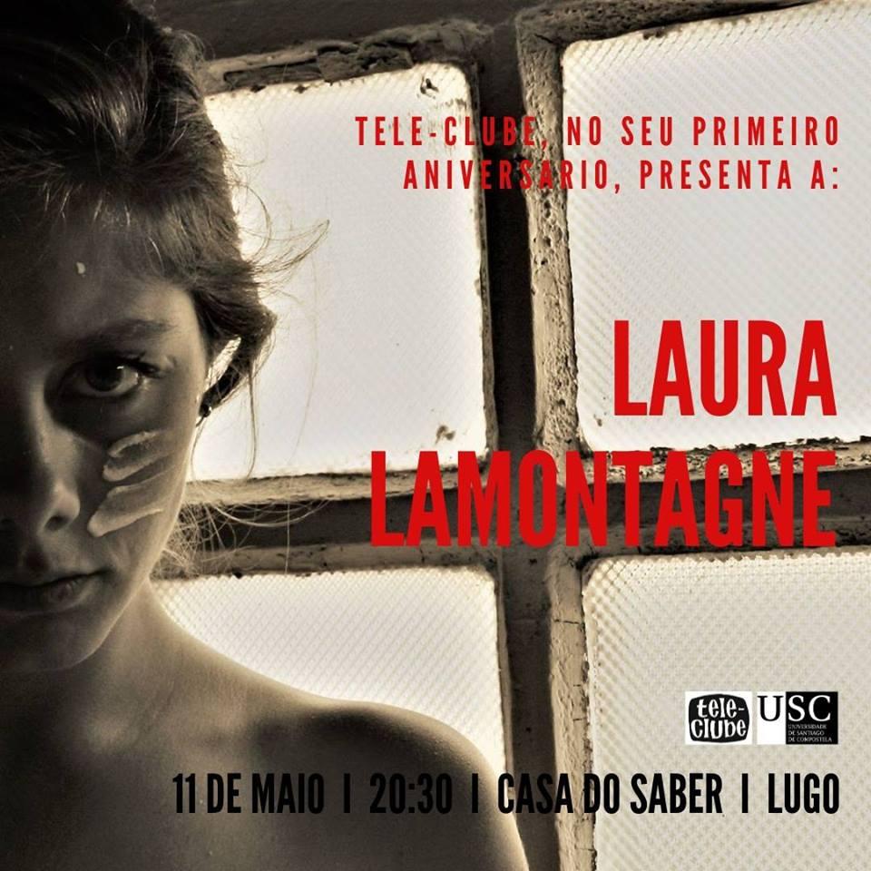 Festa aniversario de Tele-Clube Lugo con concerto de Laura Lamontagne