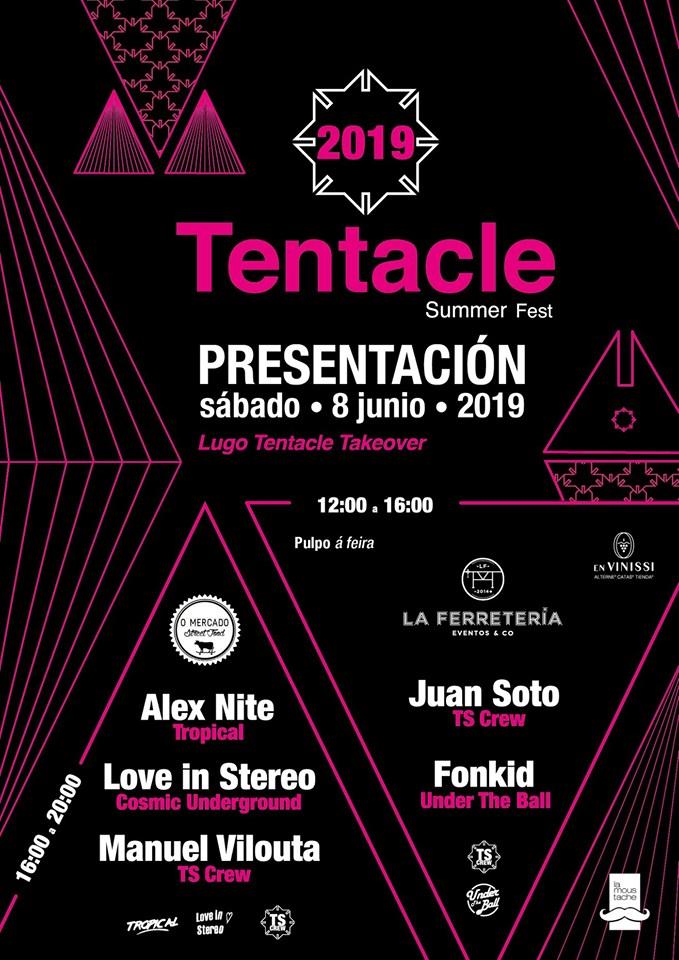 Fiesta presentación del #Tentacle2019.