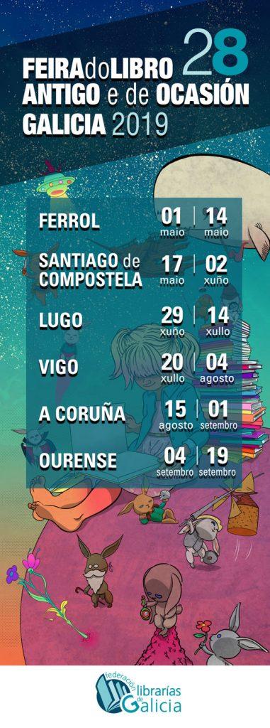28 Feira do Libro Antigo e de Ocasión en Lugo
