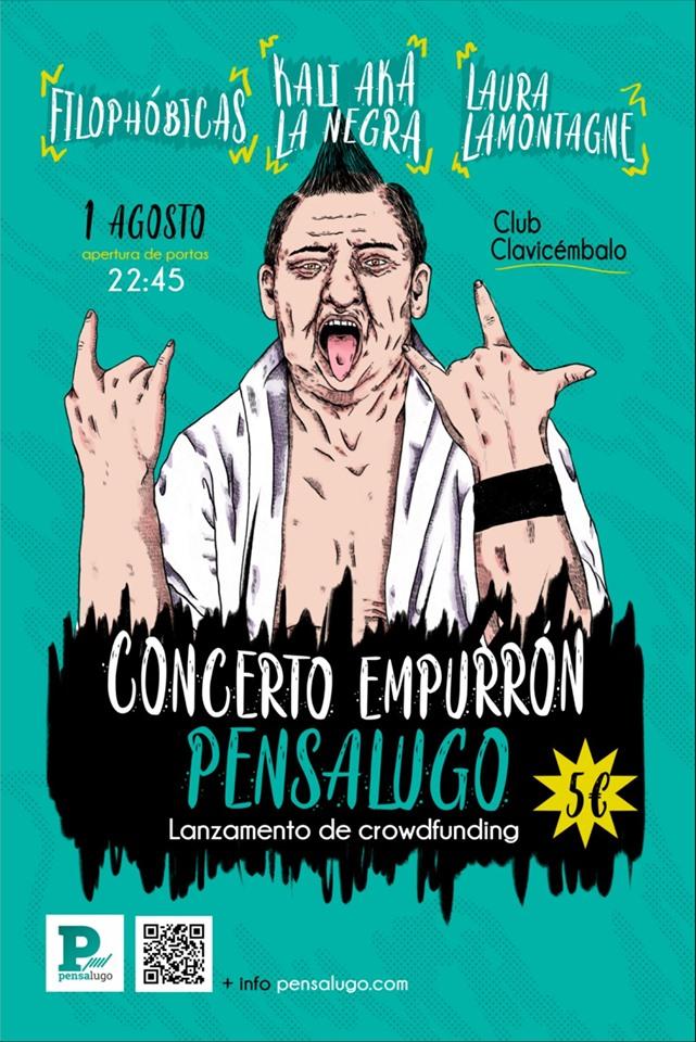 """Concertos de apoio ao novo medio """"Pensa Lugo"""""""