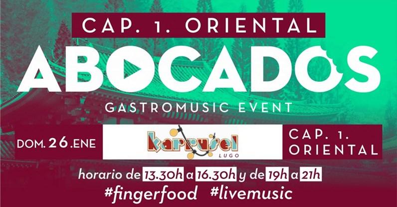 Cartel de Abocados, nuevo evento gastromusical en Lugo