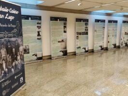 A exposición 'Don Ricardo de Fingoi', na sala da Xunta de Galicia en Lugo