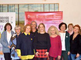 Foto da presentación de Novo ciclo de Faladoiros Feministas en Lugo