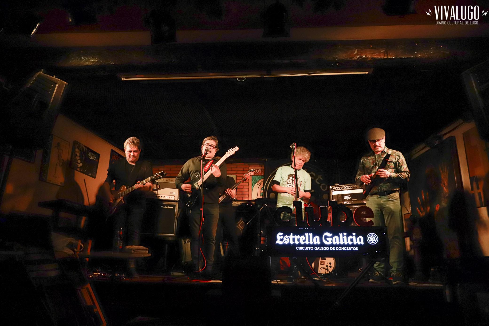 Fotografía de Frying Luras en concerto no Club Clavicémbalo de Lugo