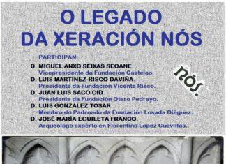 """Cartel da Táboa redonda: """"O legado da xeración Nós"""""""