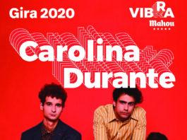 Cartel del Concierto de Carolina Durante en Lugo
