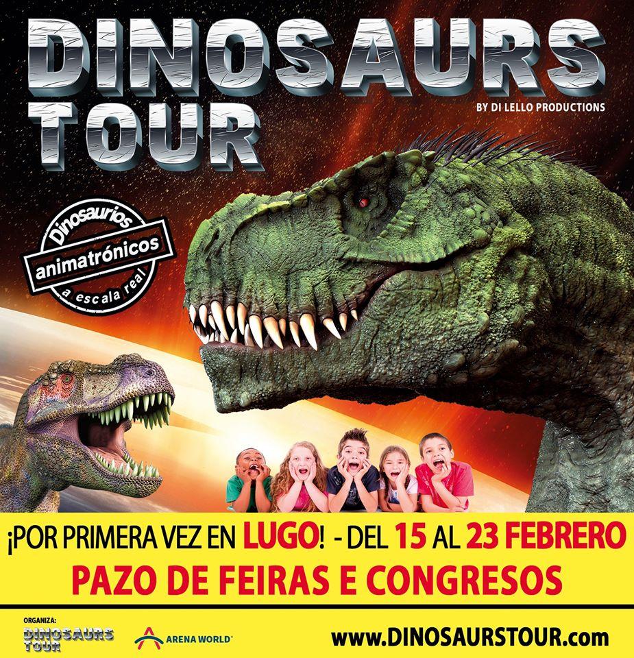 Cartel de Dinosaurs Tour