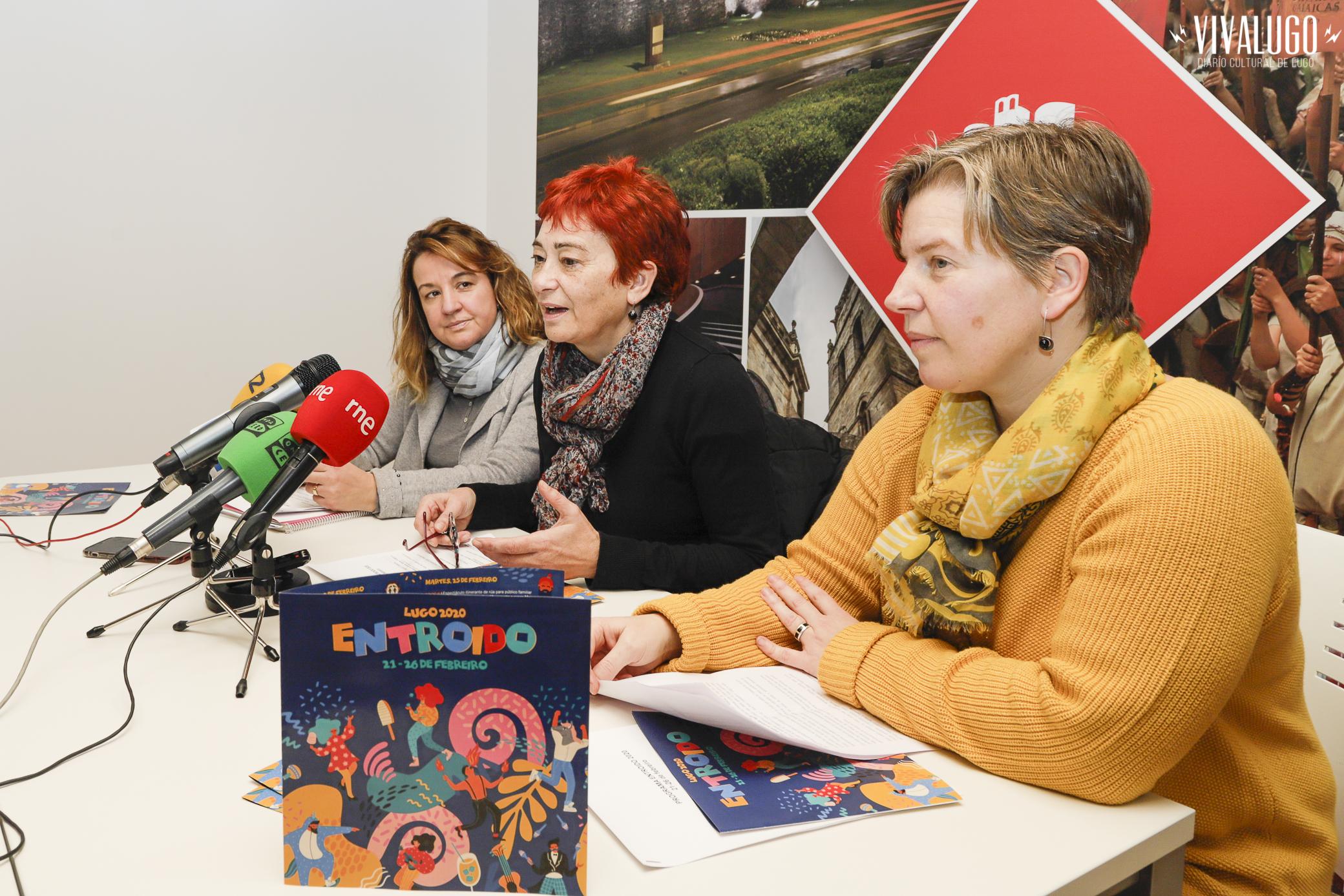 Rolda de prensa presentación do entroido 2020 en Lugo