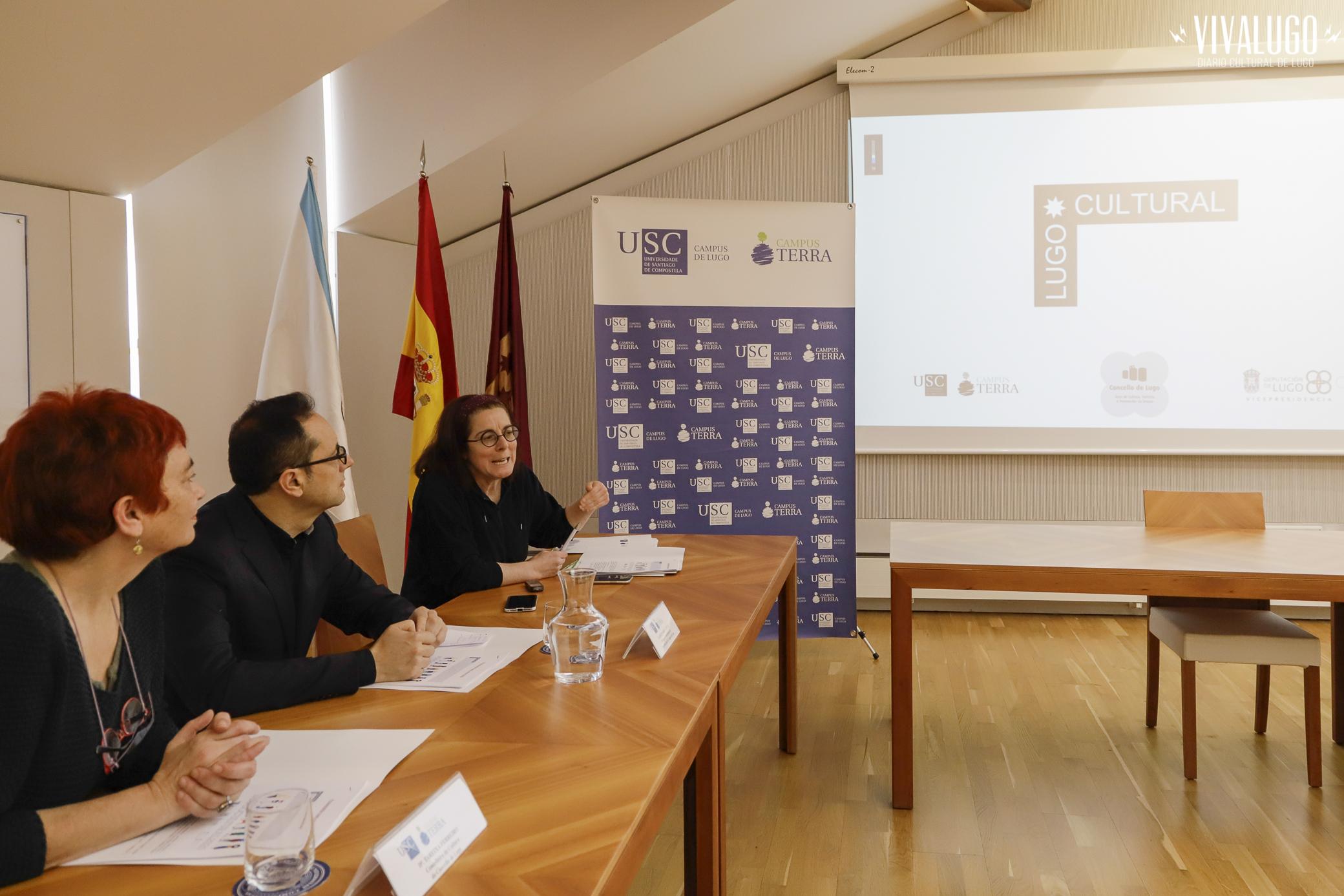 Lugo cultural - presentación aos medios