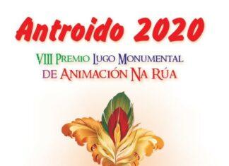 Cartel del VIII Premio Lugo Monumental de Animación de Rúa