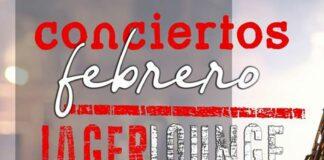Cartel de los Conciertos en el JagerLounge de Lugo
