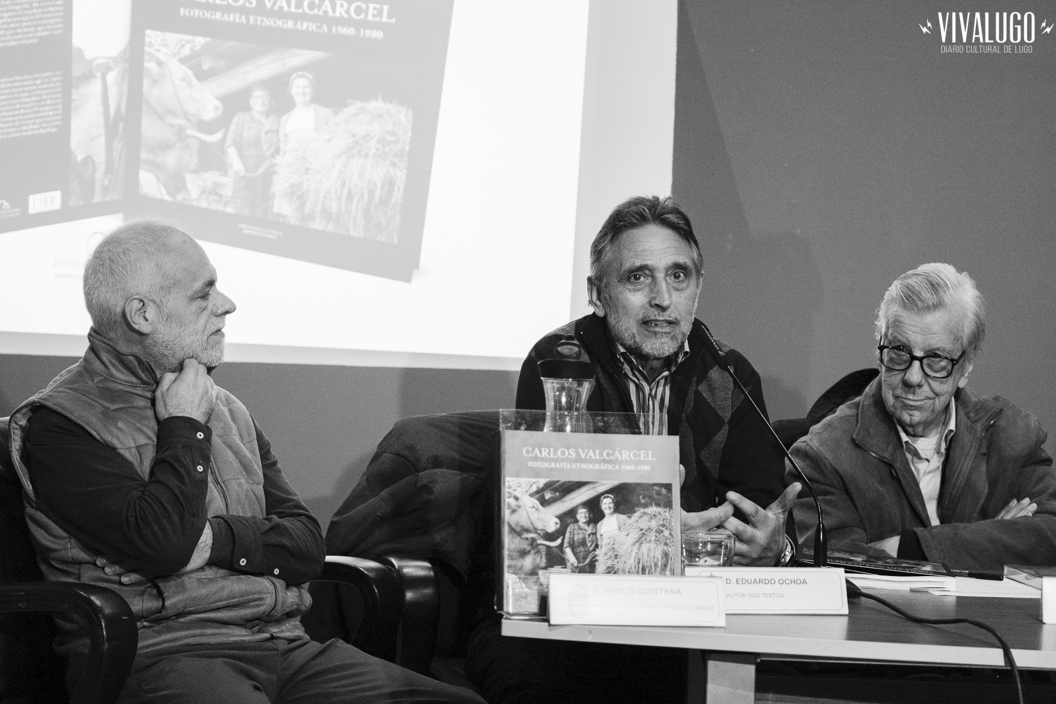 Presentación del libro de Carlos Valcárcel