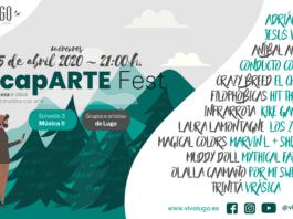 Festival on line de grupos e artistas de Lugo - escapARTE - edición II