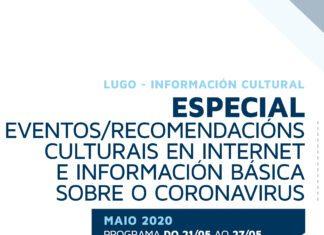 Portada do Boletín de información cultural da área de Cultura de Lugo – 15