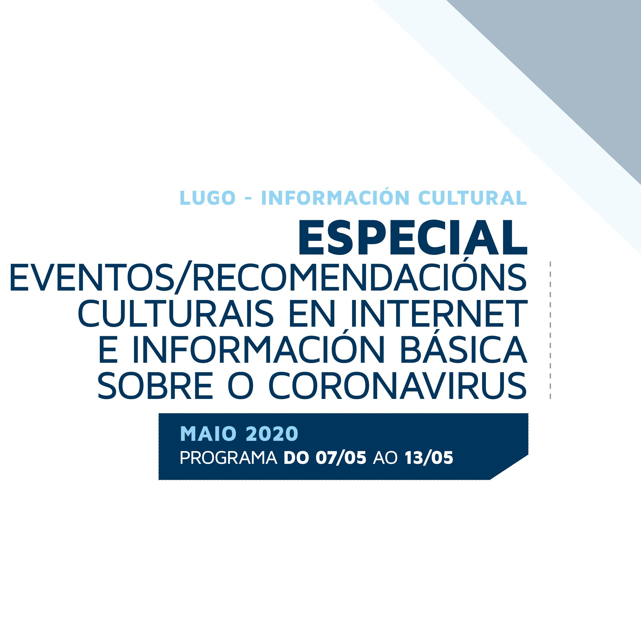 Acceso ao Boletín de información cultural da área de Cultura de Lugo – 12