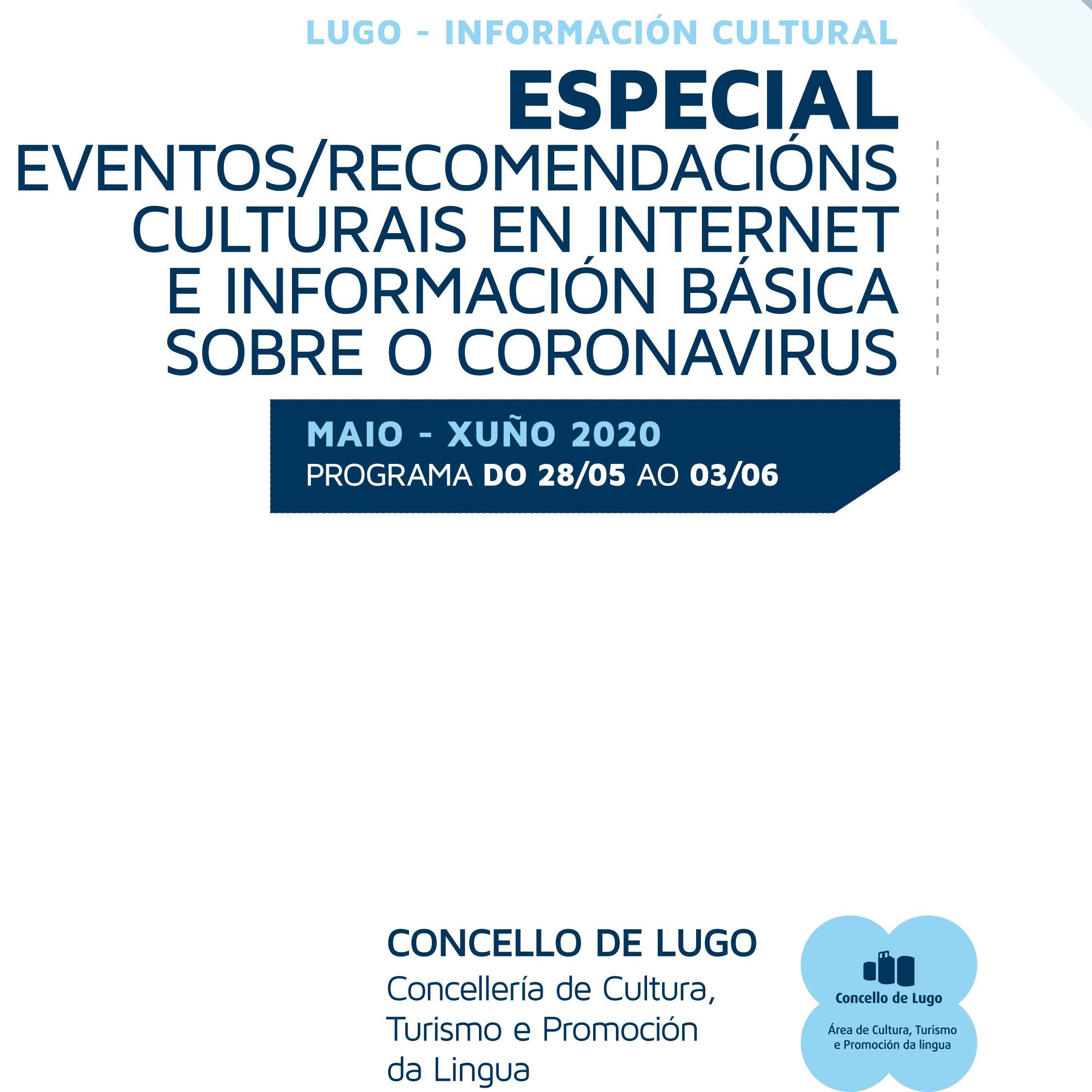 Boletín de información cultural da área de Cultura de Lugo – 16