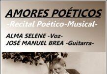 Cartel do Recital Alma Selene - José Manuel Brea