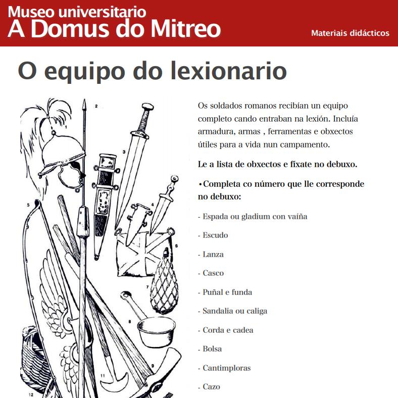 Lugo Museo Universitario A Domus do Mitreo