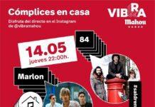 Cartel de los Conciertos online de Marlon y 84 en la sala Tebras