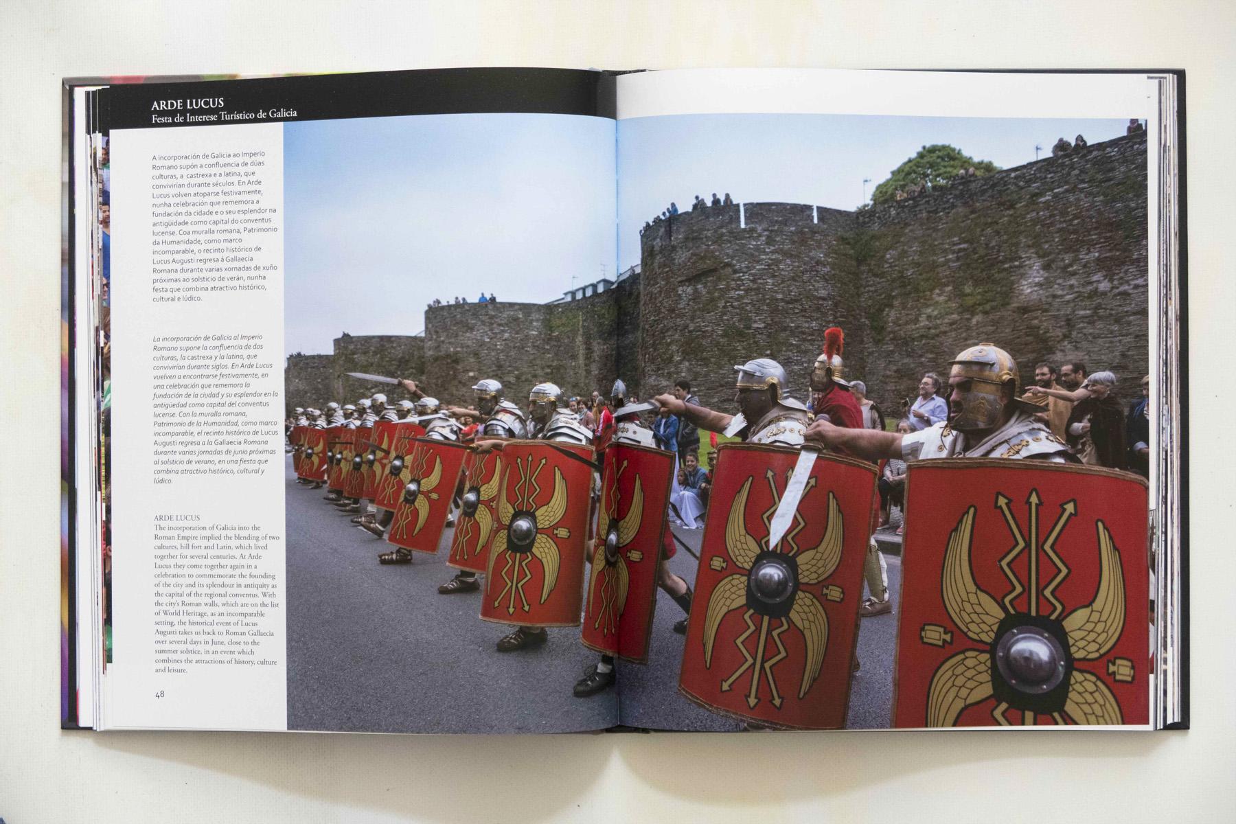 O Arde Lucus no libro Galicia e unha festa de Xurxo Lobato