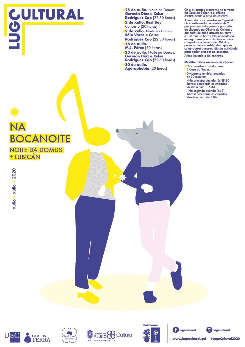 Lugo Cultural retoma a súa actividade con concertos e curtas
