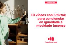 O Concello de Lugo lanza unha campaña de igualdade en Tik Tok