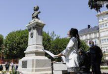 acto de apertura ao público do busto de Xoán Montes