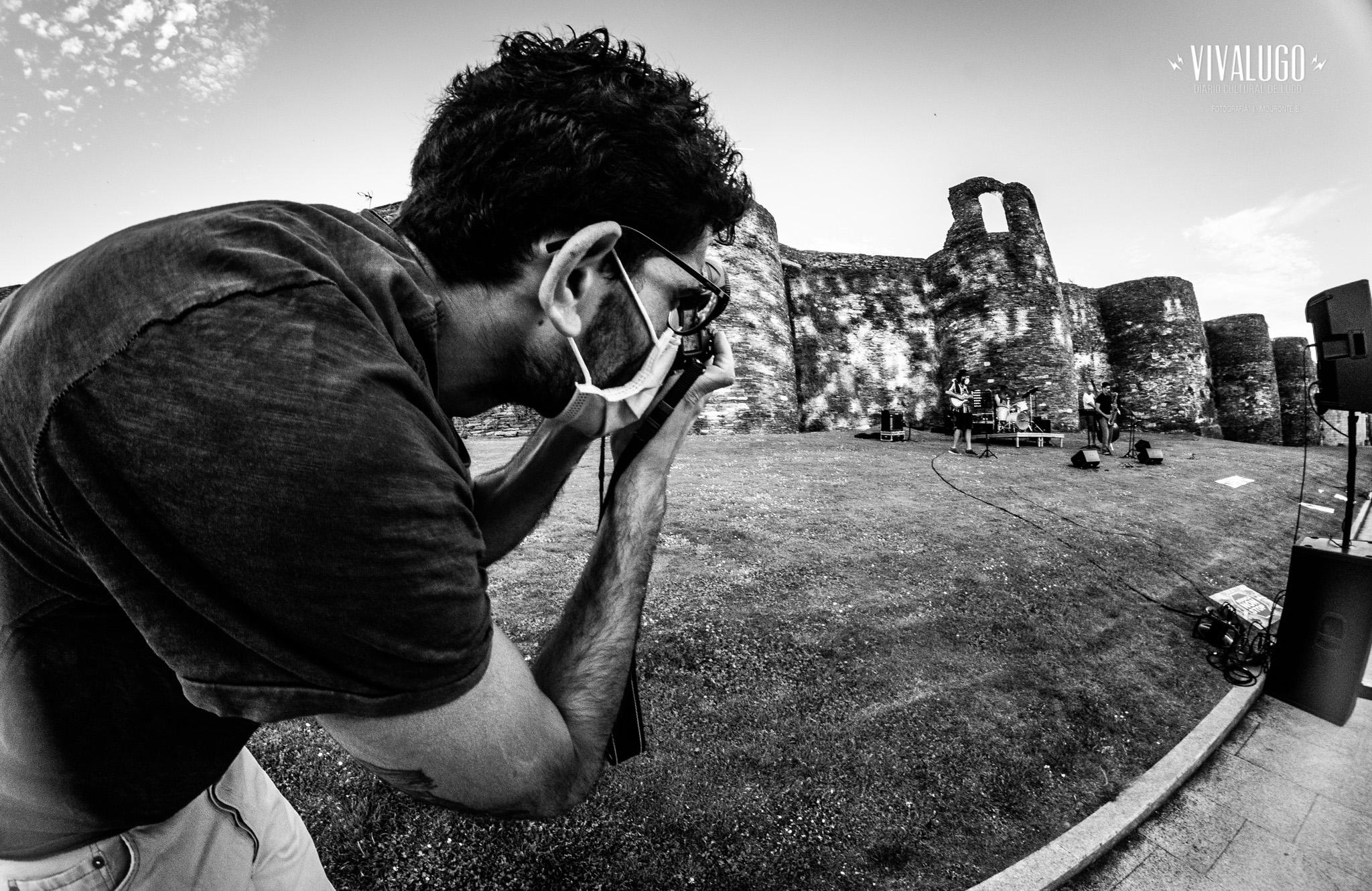 Fotografías do «Muralleando sen Parar»