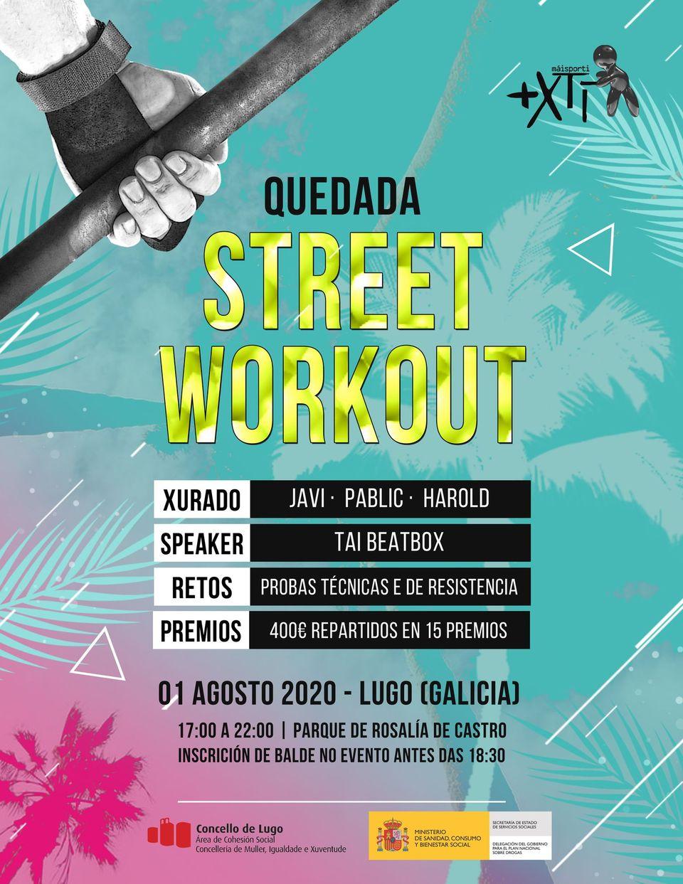 Quedada de Street Workout en Lugo