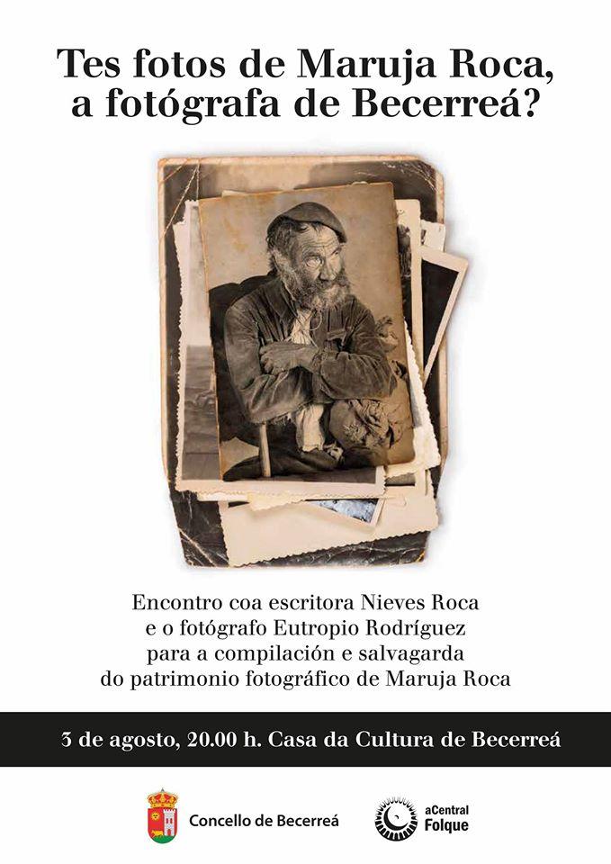 Compilación do patrimonio fotográfico de Maruja Roca