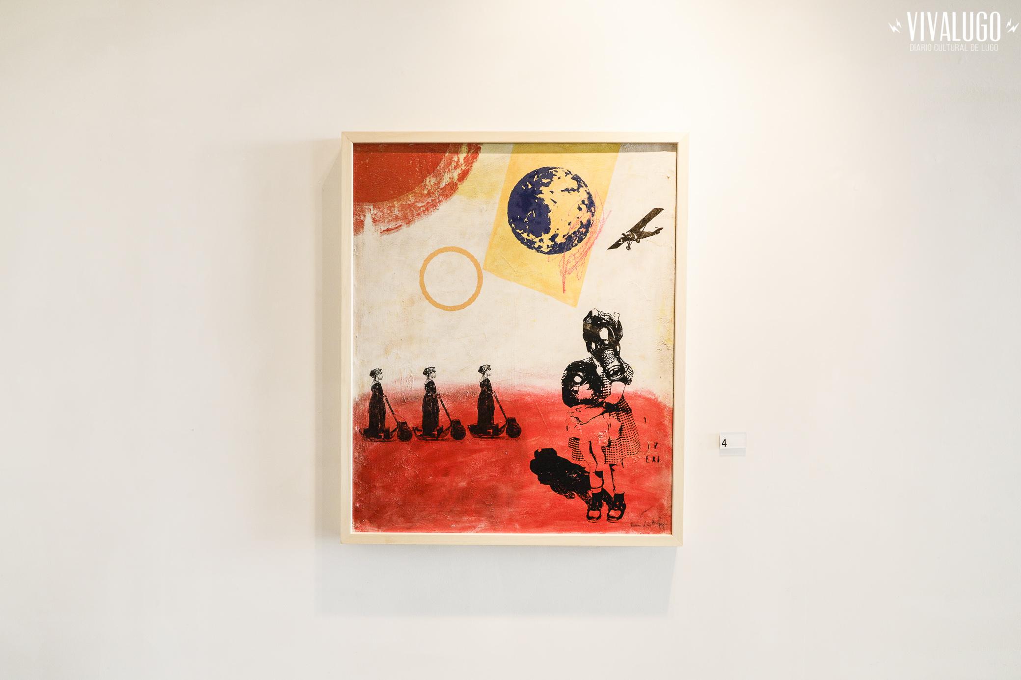 """Foto de Loopez """"Arte en cuarentena"""" en la Galería La Catedral"""