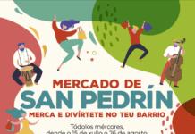Mercados de verán San Pedrín e A Milagrosiña