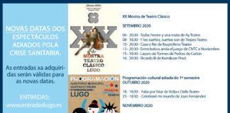 Lugo - Novas datas dos espectáculos adiados polo covid