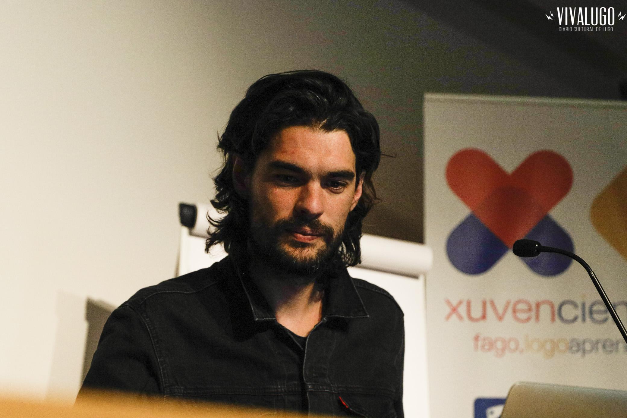 Foto de Loopez para Viva Lugo - Oliver Laxe.