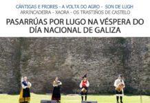Pasarrúas por Lugo na véspera do Día Nacional de Galiza