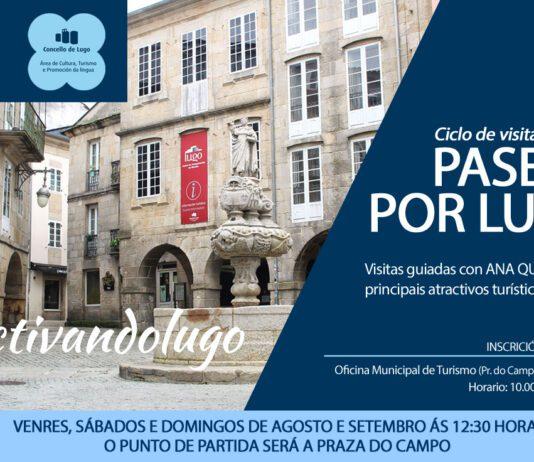 Visitas guiadas por Lugo no verán 2020.