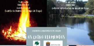 """""""Os catro elementos"""" - Xornadas ambientais en Lugo"""