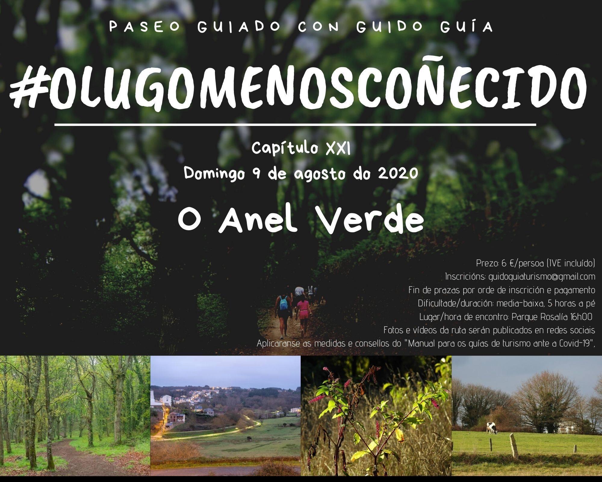 Paseo guiado polo Lugo menos coñecido #OAnelVerde
