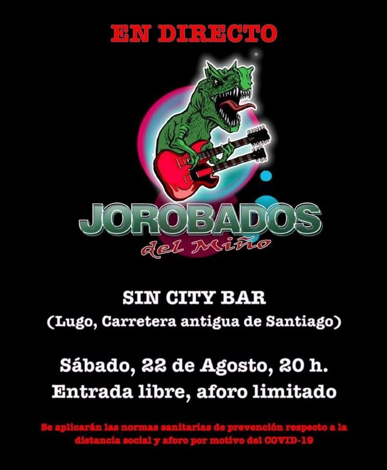 Concierto - Los Jorobados del Miño en el Sin City