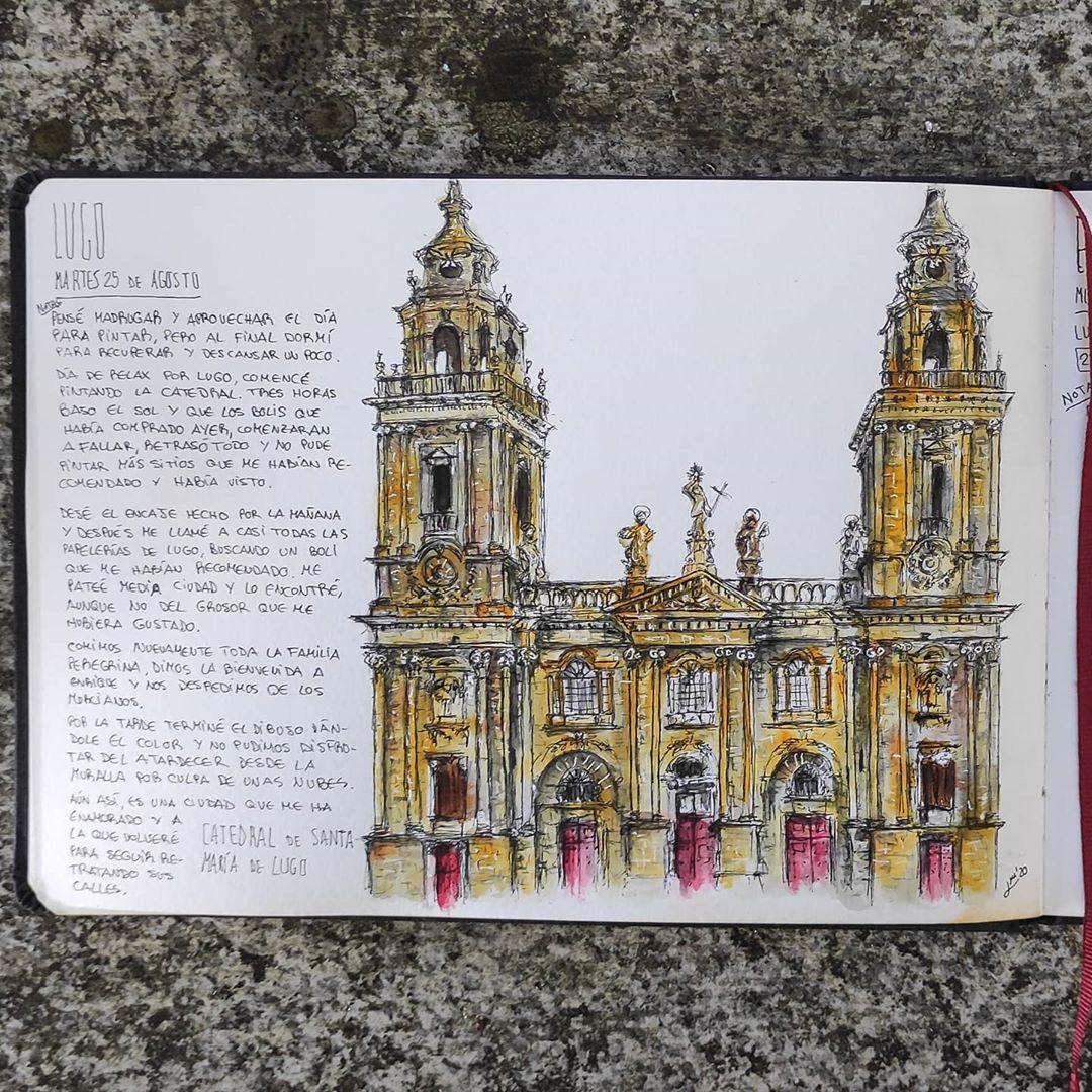 Lucía Moure - dibujo Lugo