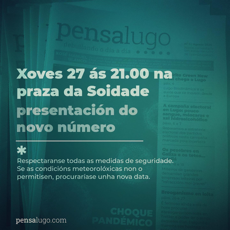 Presentación do novo número do Pensa Lugo