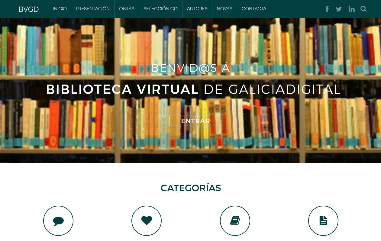 A biblioteca virtual de GaliciaDigital chega aos 200 libros