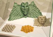 Expo «Papiromates. Matemáticas + creatividade = papiroflexia» en Afundación Lugo