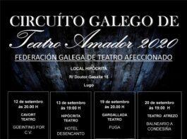 Teatro amador no Local Hipócrita de Lugo