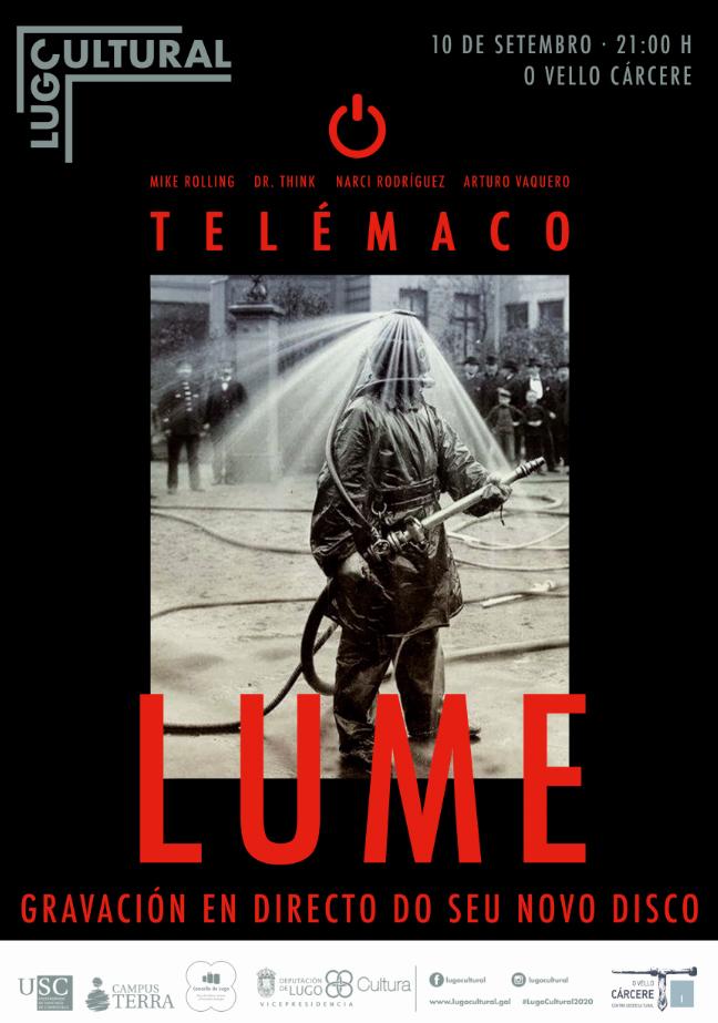 """A banda lucense Telemaco presenta """"Lume"""" en directo"""